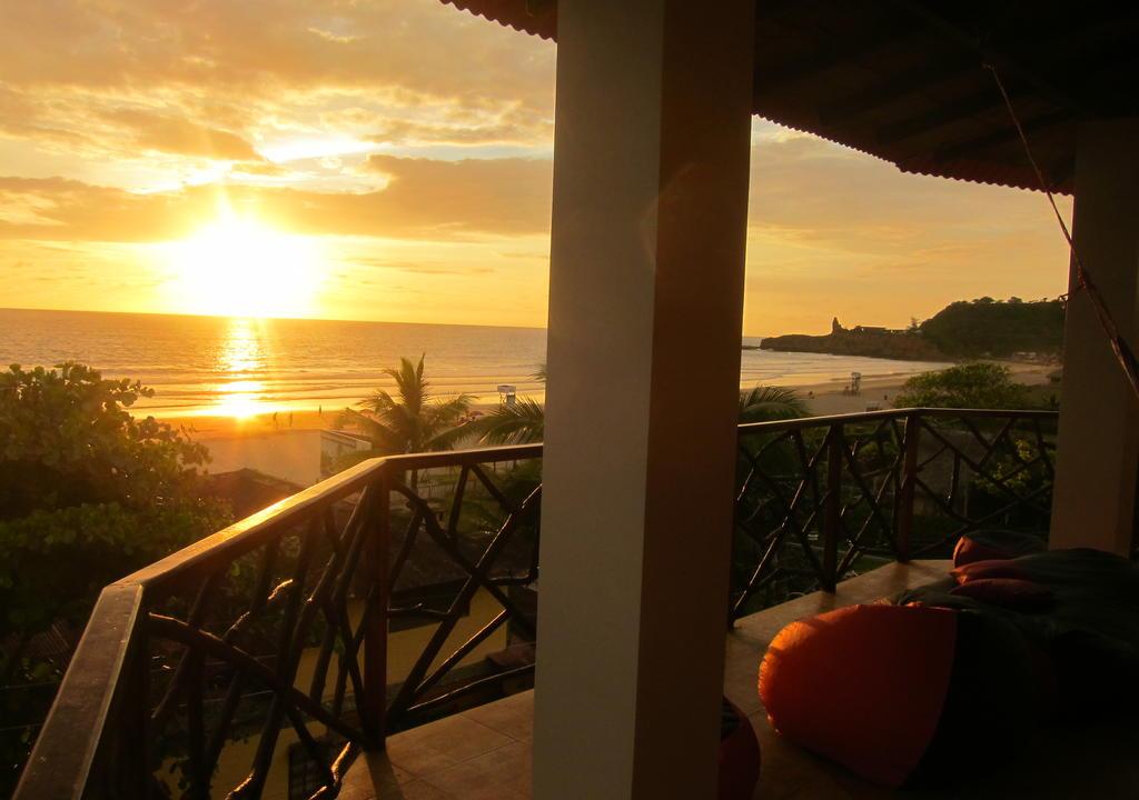 Sunset desde la terraza espectacular