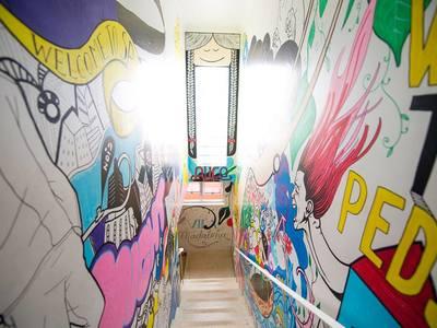 Escada grafiti
