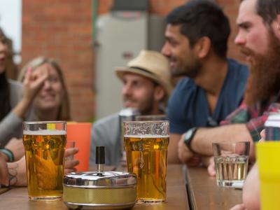 H11 beers in the  garden   copy